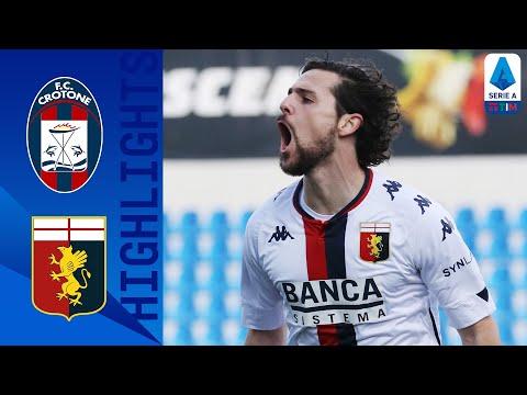 Crotone 0-3 Genoa | Destro implacabile, il Genoa non si ferma più | Serie A TIM