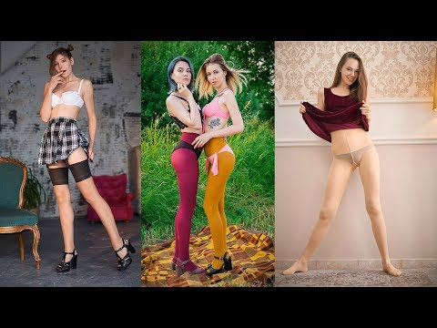 Pantyhose & Stocking Show Girls With Long Legs 2019-09(1) - Art Nylon Magazine