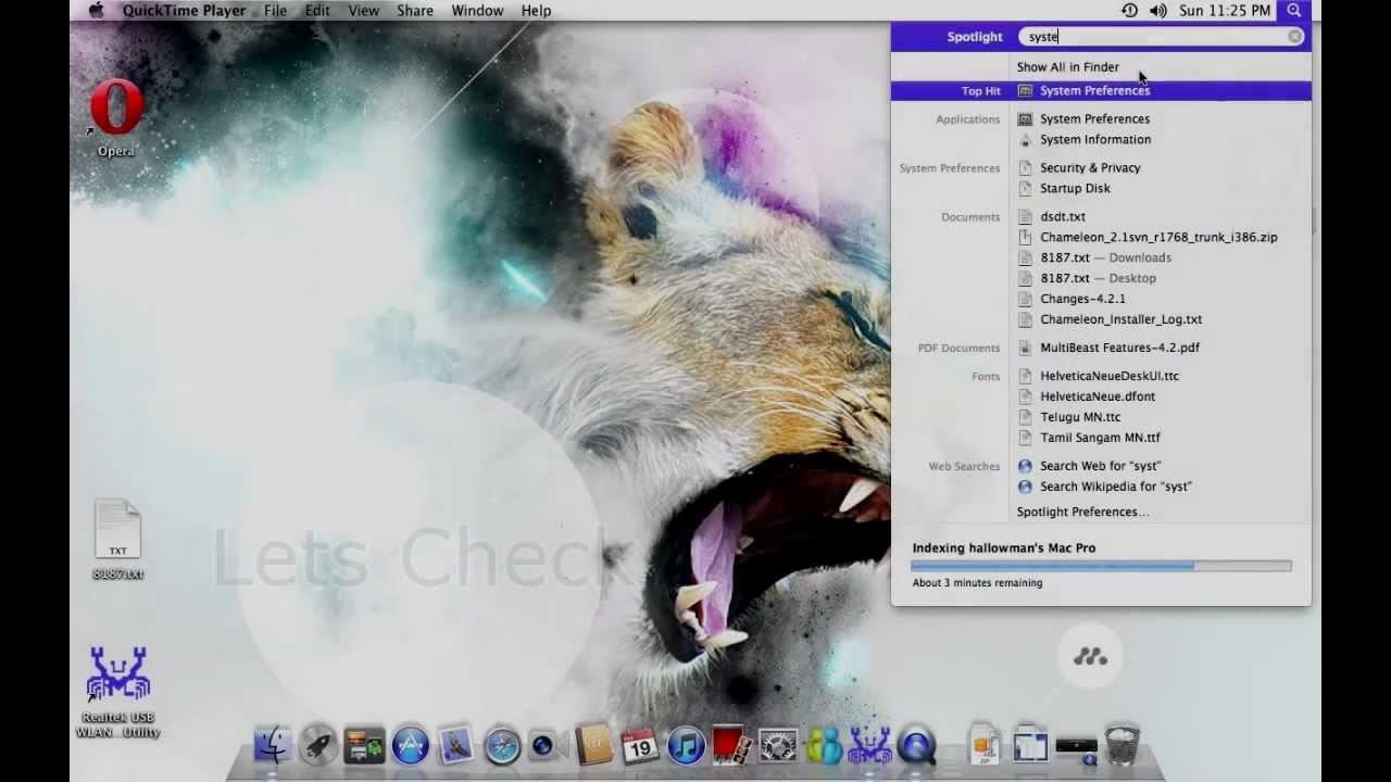 OS X LION 10.7.5