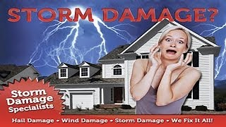 Storm Damage Repair Denton | Call 817-274-6777 | Denton Storm Damage Replacement TX