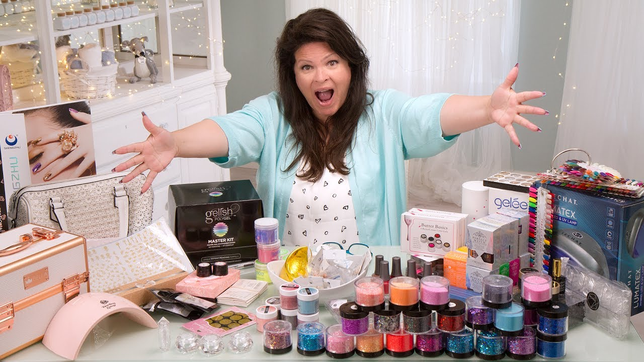 Suzie\'s Haul - Nail Products from Vegas! - YouTube