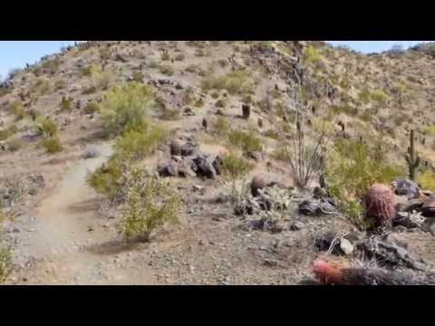 National Trail and Goat Hill - South Mountain Pres by A Romain