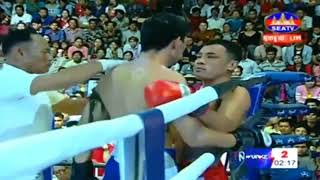 Tes Ghyvha Cambodia Vs Fhanimit, Thailand, Khmer Warrior Boxing Seatv Boxing 19 August 2018
