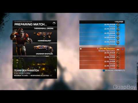 Gear Watch 3 Gears of War 3 Thrashball