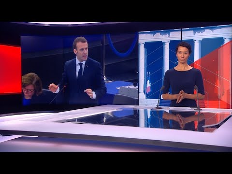 فرانس 24:France's Macron likens divisions within EU to 'civil war'