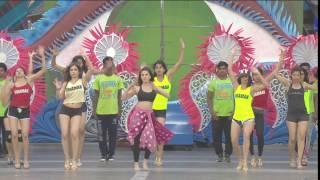 Sunny Leone's 'Choli Ke Peeche' Rehearsals - Zee Cine Awards 2017