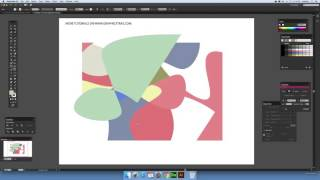 Divide Objects Below Illustrator command and abstract designs (Intermediate) tutorial