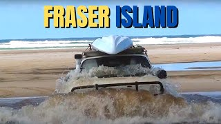 Fraser Island 4x4 Beach Adventure Toyota Landcruiser 80 series