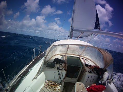 Трансатлантика на парусной яхте вдвоем