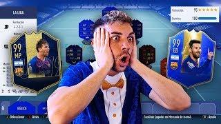LA MEJOR PLANTILLA DE LA LIGA SANTANDER DE FIFA 19