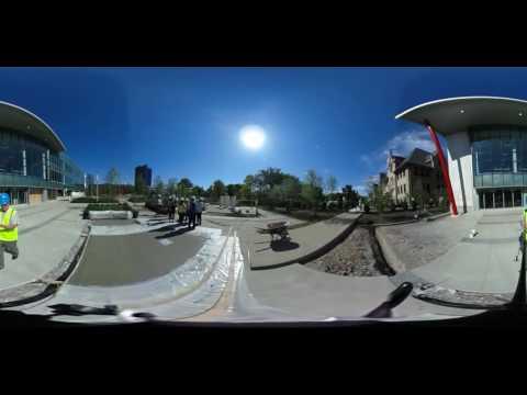 360-degree video tour of Columbus Metropolitan Library construction