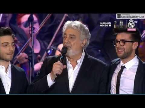 Il Volo  Placido Domingo en el Alma  Grande Amore , Non Ti Scordar Di Me