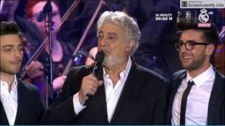 Il Volo Placido Domingo En El Alma Grande Amore Non Ti Scordar Di Me