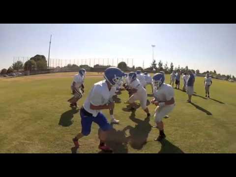 Hanford West Huskies Football Practice