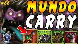 ALL THREE LANES LOST HARD! Carry & Win with UNKILLABLE MUNDO Jungle   Iron IV to Diamond Ep #88