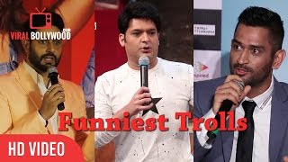 Funniest Trolls Of Bollywood | Kapil Sharma, M.S Dhoni, Abhishek Bachchan