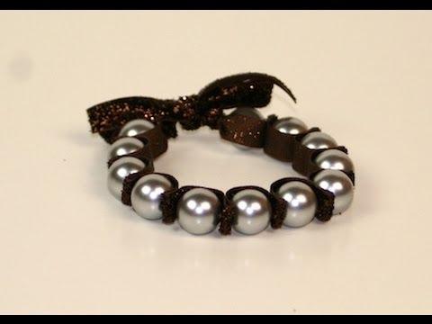 Diy Stretchy Pearl Bracelet Showmecute