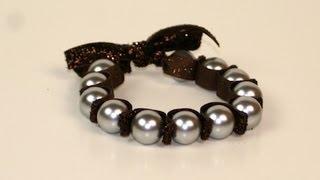DIY: Stretchy Pearl Bracelet   ShowMeCute