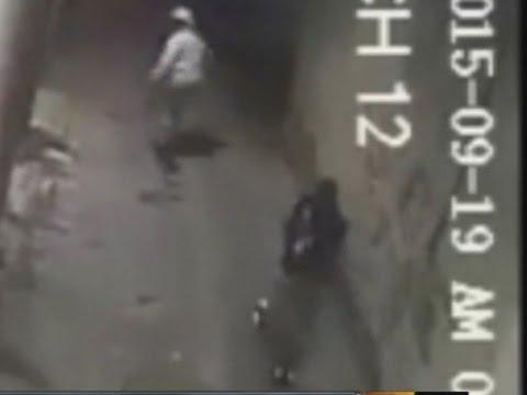 Police surveillance video shows fatal Baltimore shooting