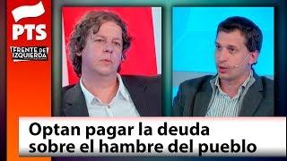 Christian Castillo ¡No tiene nombre las mentiras sobre el plan económico!