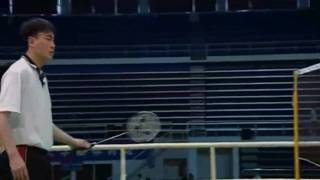 ZHXJ Badminton Lesson Ep.19 part 2 Net Play Hook Shot