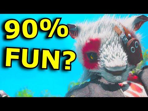90% FUN, 10%