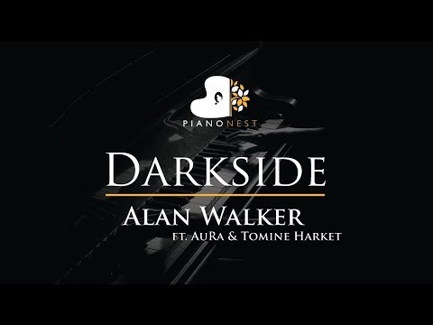 alan-walker---darkside-(feat.-aura-and-tomine-harket)---piano-karaoke-/-sing-along-cover-with-lyrics