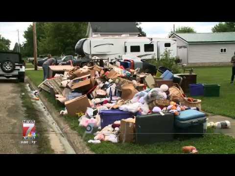Flooding 2017 Sumner, Iowa