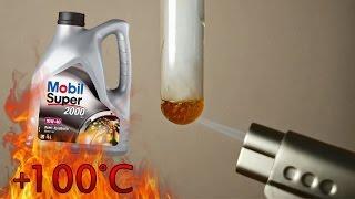 Mobil Super 2000 x1 10W40 Jak czysty jest olej silnikowy? Test powyżej 100°C