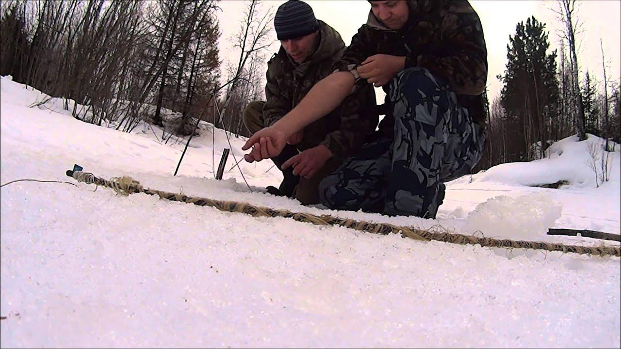 Зимняя ловля чебака (плотвы).