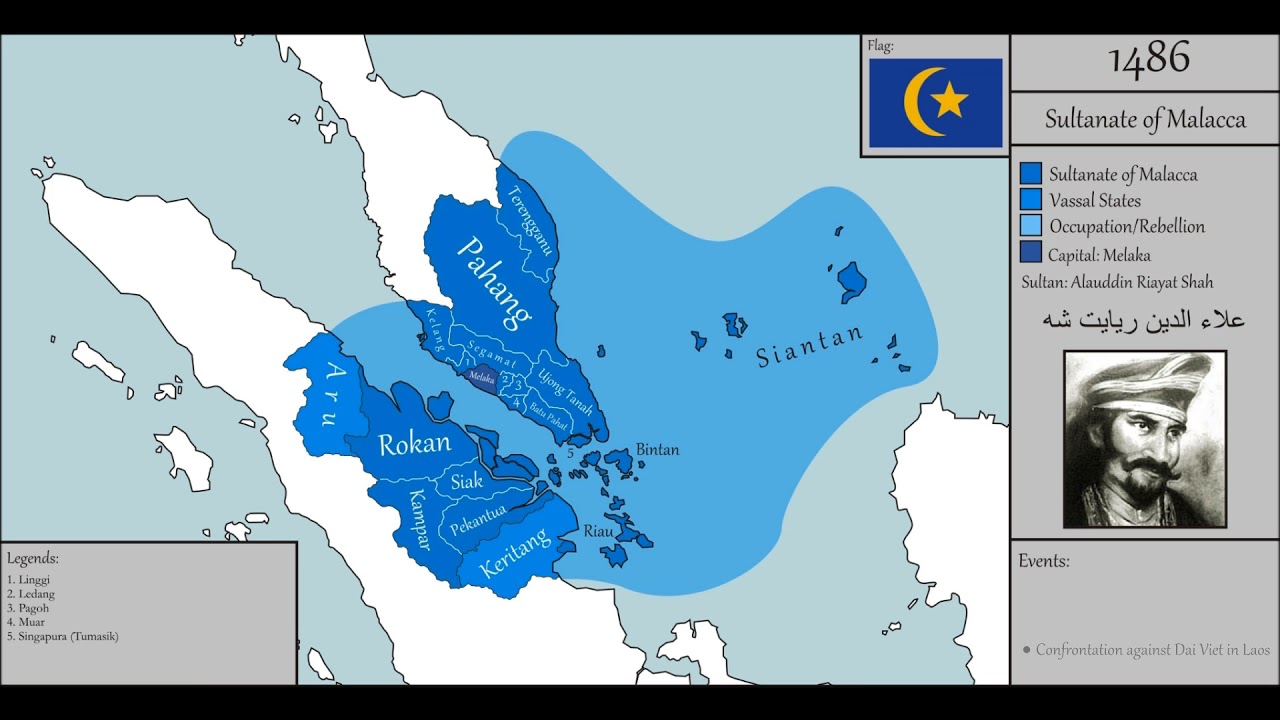 The History Of The Malacca Sultanate Youtube