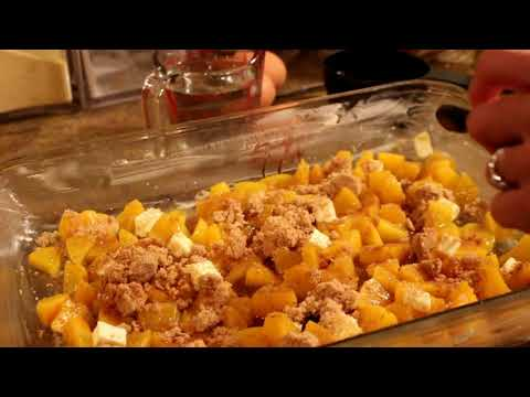 Try This Delicious Peach Dump Cake Recipe