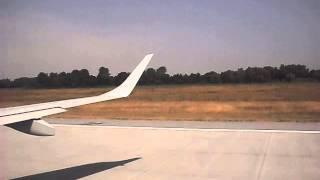 Lufthansa CityLine Embraer 195 takeoff from Munich Franz Joseph Strauss Airport