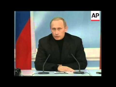 Putin victory speech