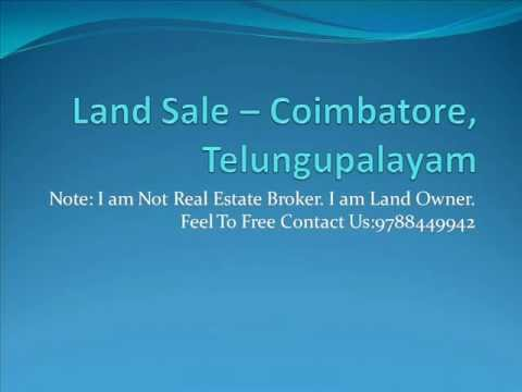 Land For Sale In Coimbatore, Cheap Lands In Coimbatore, 9788449942