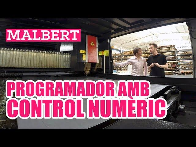 Malbert fa de programador amb control numèric #ChallengeIndústria