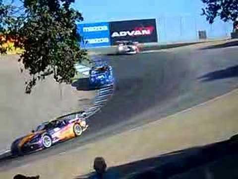 Laguna Seca Raceway >> Speed GT, The Corkscrew @ Laguna Seca - YouTube