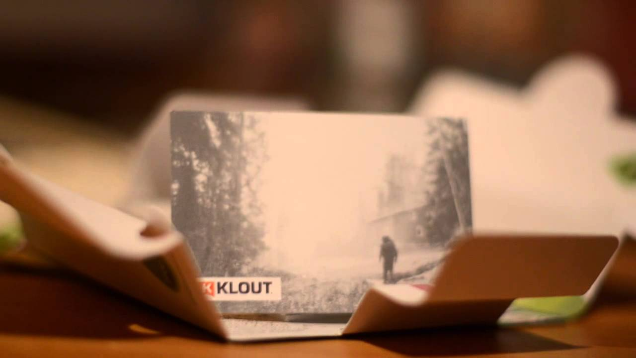 free business cards from klout and moo  youtube