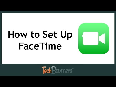 How To Set Up Facetime