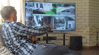Видеонаблюдение в телевизоре