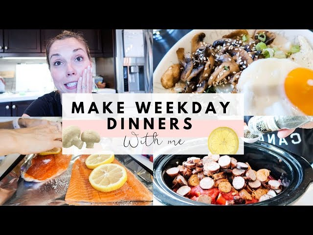 Make Weekday Dinners With Me | Family of 6 | Jambalaya, Bimbimbap & Trout