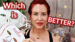 BEST LED LIGHT THERAPY FOR FACE  // ADURO vs CURRENTBODY  // RED and BLUE LIGHT THERAPY