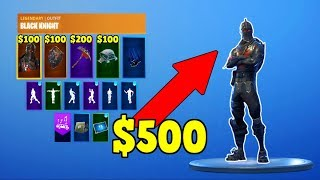 HOW MUCH MONEY HAVE THESE PEOPLE SPENT? (Stacked Fortnite Account!)