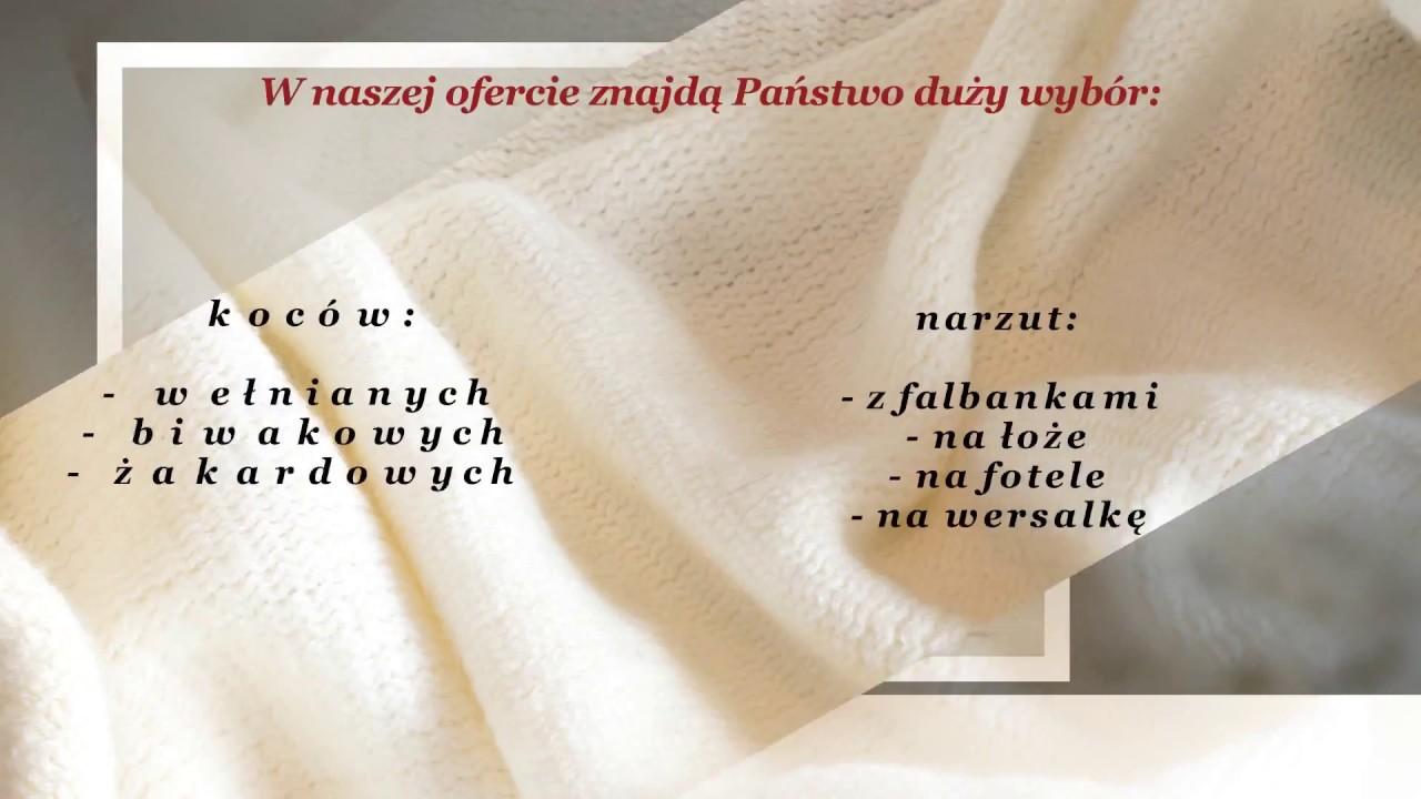 Koce Wełniane Narzuty Na łóżka Komplety Narzutowe Konstantynów łódzki Pawłowski Aleksy Tkactwo