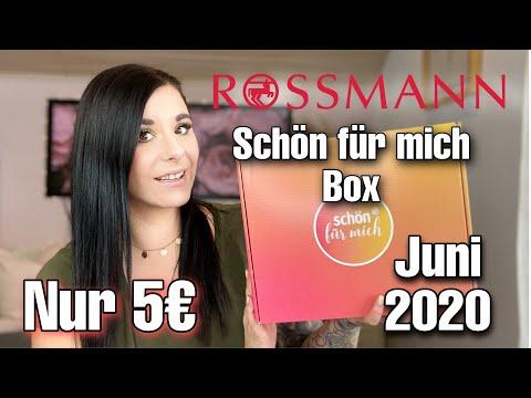 Rossmann Schon Fur Mich Box Juni 2020 Unboxing Youtube