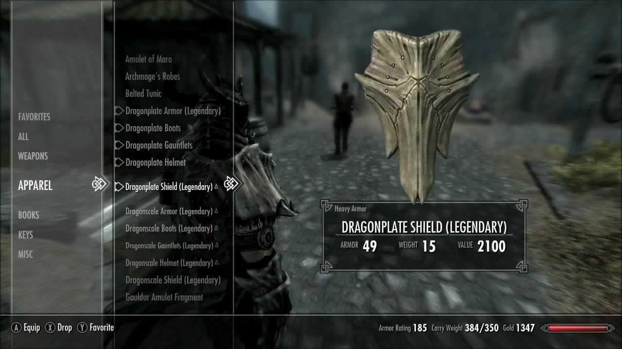 Skyrim Dragon Bone Plate Armor Youtube