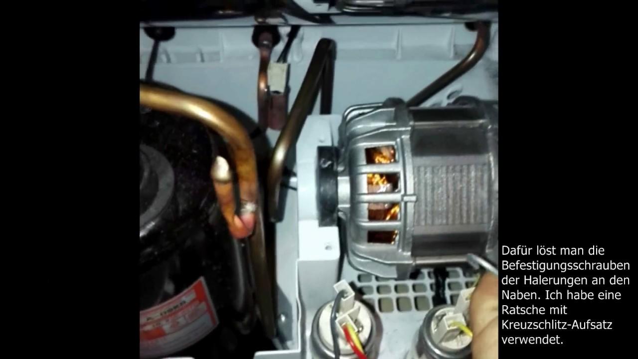 Trockner blomberg tkf 7451 w50 riemenwechsel wärmepumpentrockner