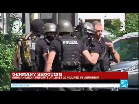 Germany: gunman fires shots at German cinema in Viernheim