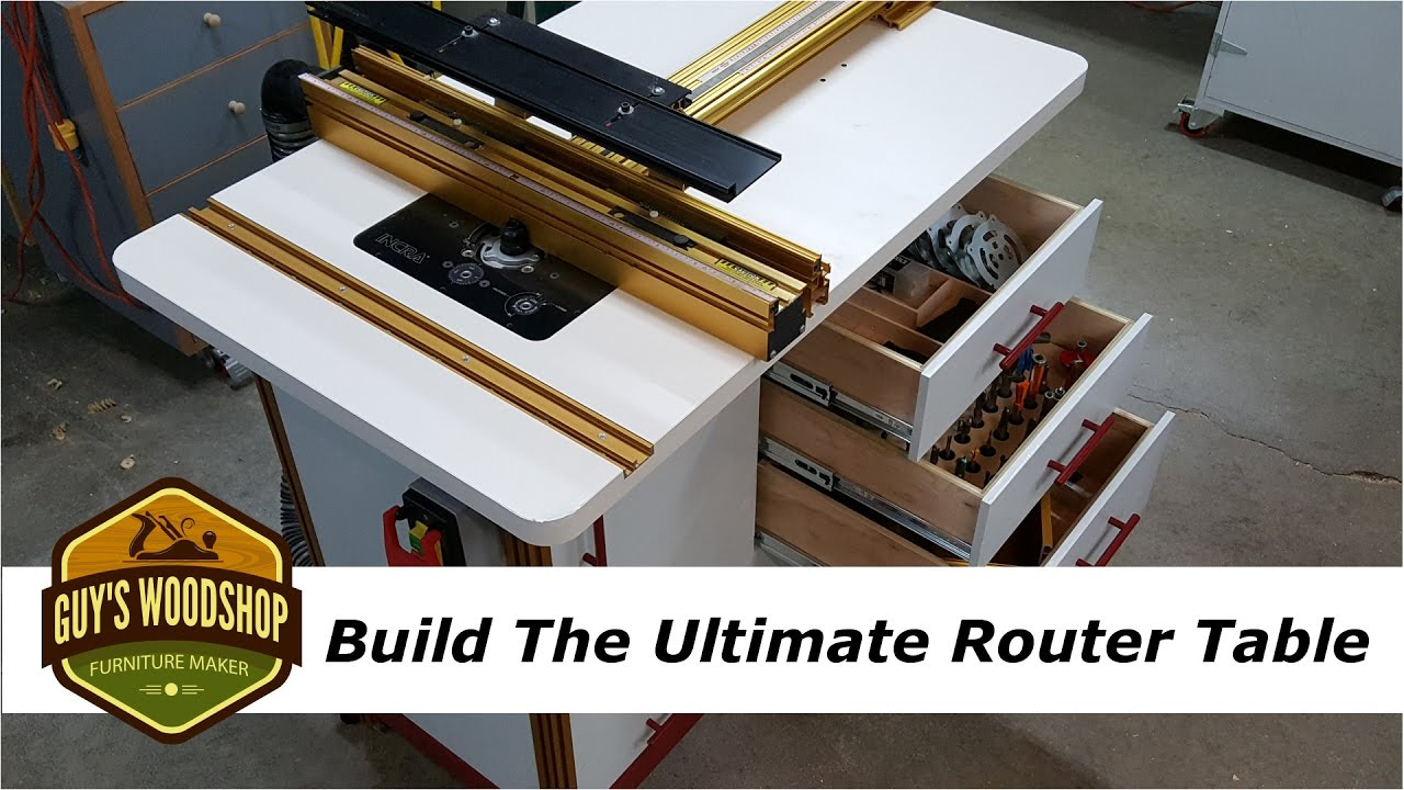 How to build the ultimate router table with incra pt 2 youtube greentooth Images