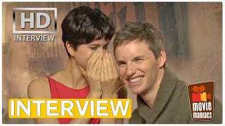 Fantastic Beasts - Eddie Redmayne & Katherine Waterston | exclusive Interview (2016)